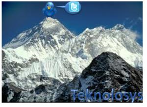 Twitter en Everest
