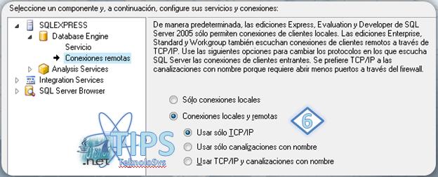 SQL Express Conexiones Remotas