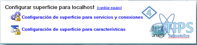 SQL configura servicios y conexiones