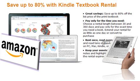 Amazon Renta Libros
