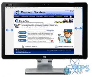 Centrar Pagina Web