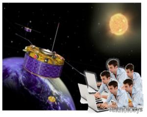 Hackean Satelite para que funcione