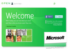 Tulalip, red social de Microsoft