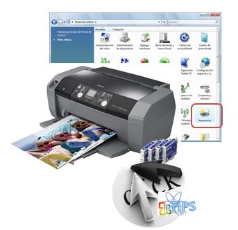 Configurar impresora predeterminada