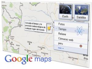 Google Maps Tiempo