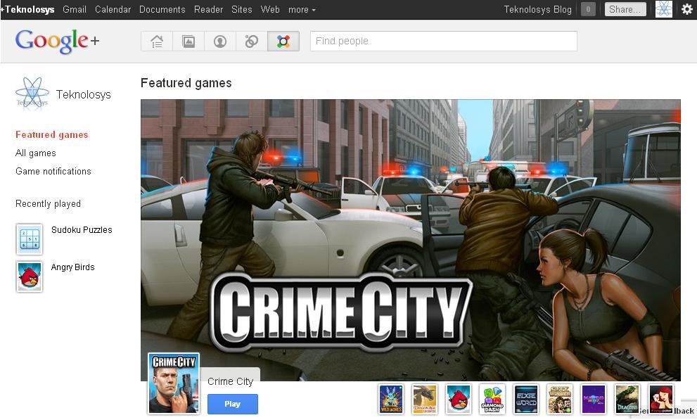 Juegos en Google +