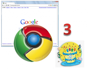 Aniversario de Chrome