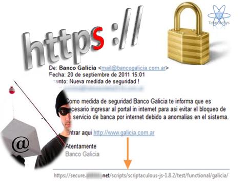 https no es seguro