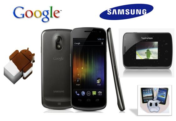 Samsung presenta Galaxy nexus