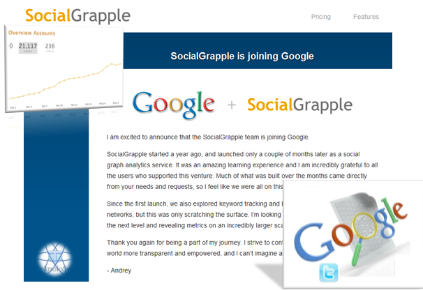 SocialGrapple adquirida por Google