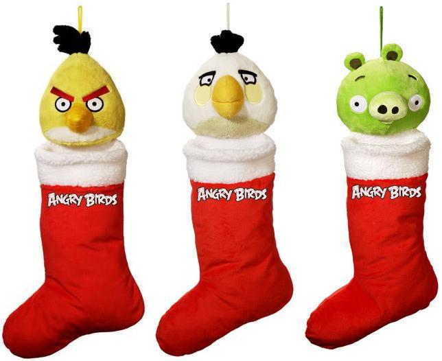 Angry Birds bota papa noel
