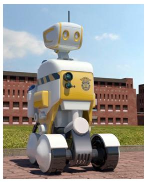 Robot vigila carcel