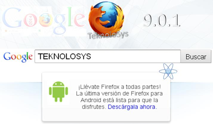 google firefox Pag Inicio