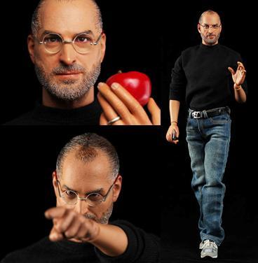 Steve Jobs en miniatura