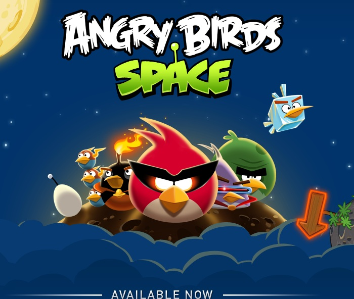 Angry Birds Space Disponible