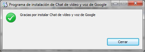 Chat Voz video Google
