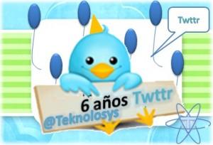 Tweet 6 años twitter