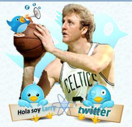Twitter Larry Bird pajaro azul