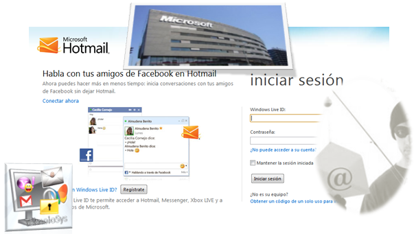 Error hotmail correo seguridad
