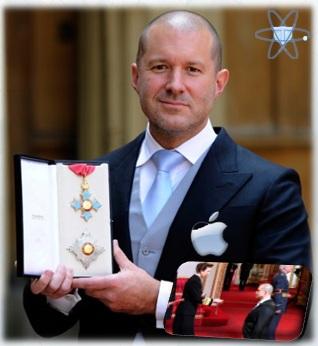 Jonathan Ive diseñador Apple caballero Gran Bretaña