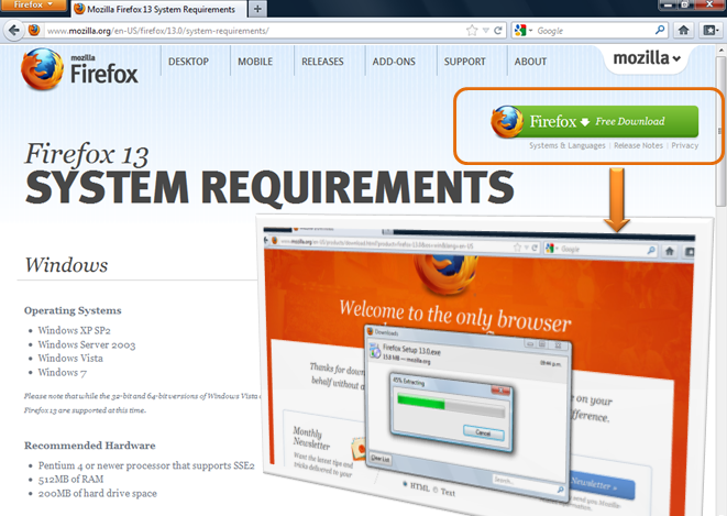 instala Firefox13