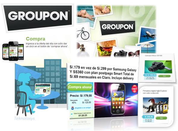 Aprovecha ofertas en Groupon