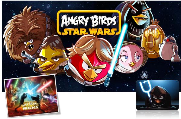Angry Birs Starwars