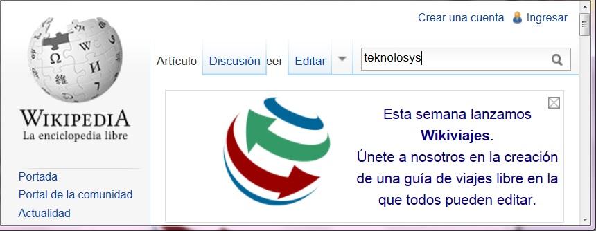 Wikipedia 12 años wikiviajes