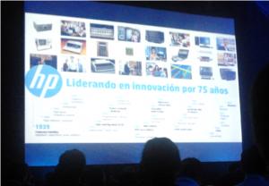Evento tecnologia HP