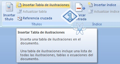 Crear Indice Tabla Word 1