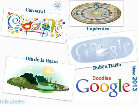 Google doodle mayo 2013