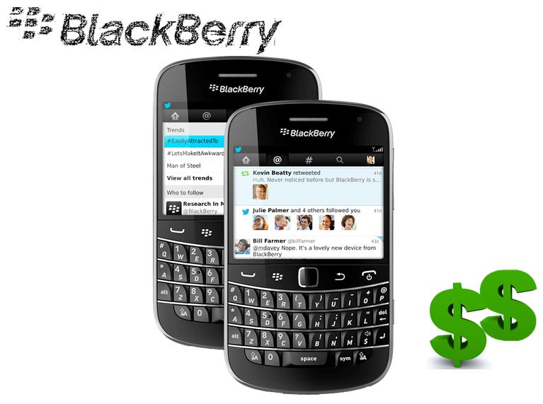 Blackberry podria estar en venta