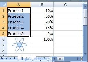 Excel Formato condicional Resultado