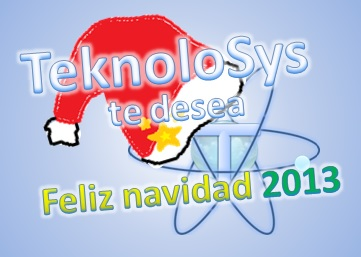 Feliz navidad Teknolosys