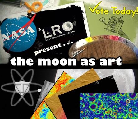 La luna es arte