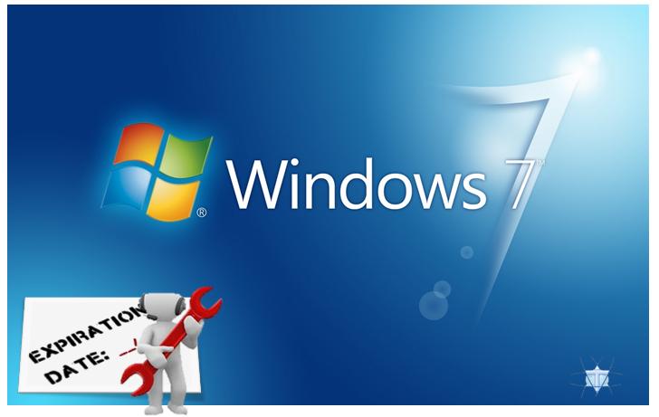 Microsof deja sin soporte Windows 7