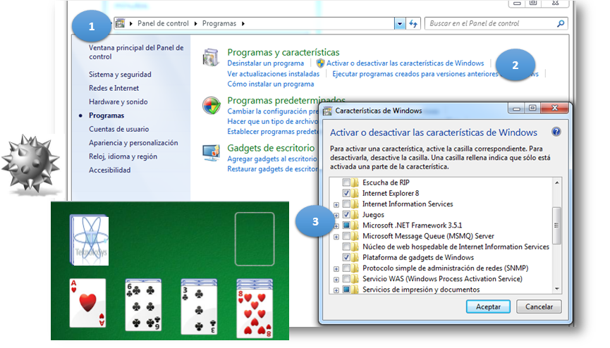 Activar Juegos en windows
